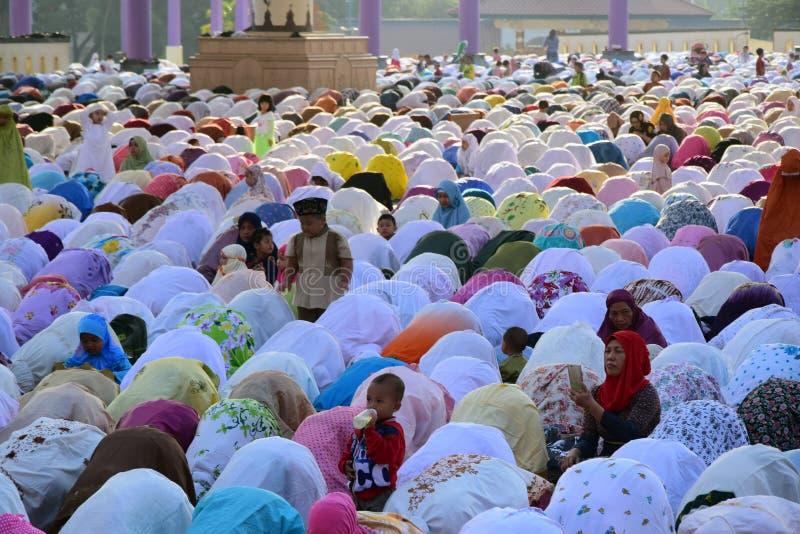 Eid Al-Adha Prayer foto de stock