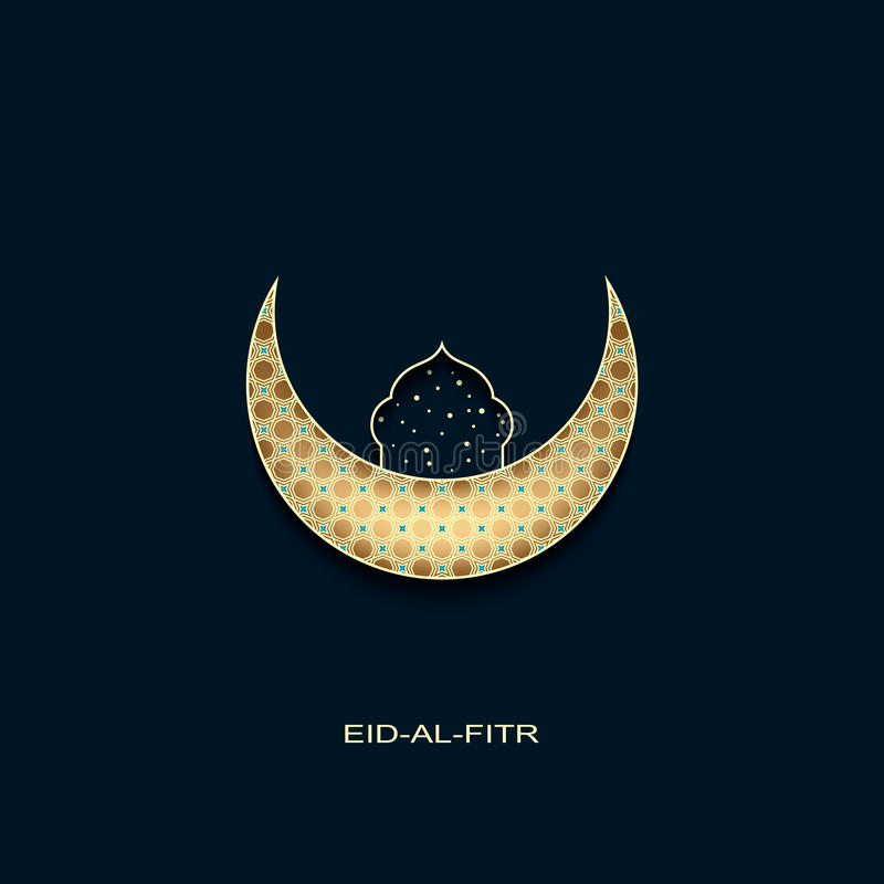 Popular Board Eid Al-Fitr Decorations - eid-al-fitr-background-golden-decorated-moon-star-mosque-vector-73018106  Photograph_45953 .jpg