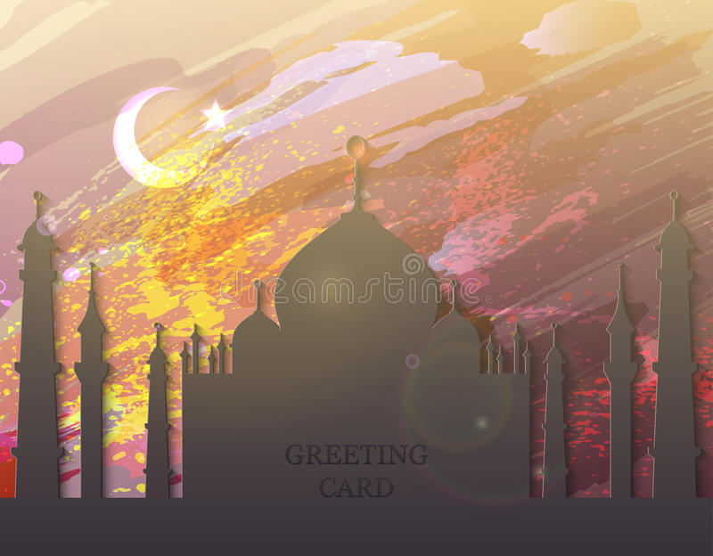 Fantastic Allah Eid Al-Fitr Greeting - eid-al-fitr-card-watercolor-mosque-mubarak-muslim-traditional-holiday-muslim-festival-celebration-abstract-background-75301711  Picture_595755 .jpg