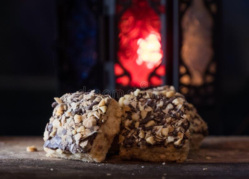 Eid Al Fitr Cookies fait à la maison malaisien photographie stock