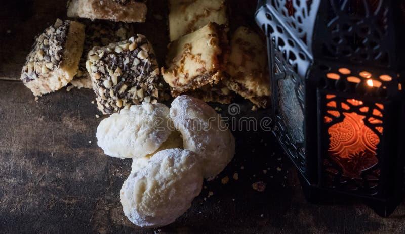 Eid Al Fitr Cookies fait à la maison malaisien photos libres de droits