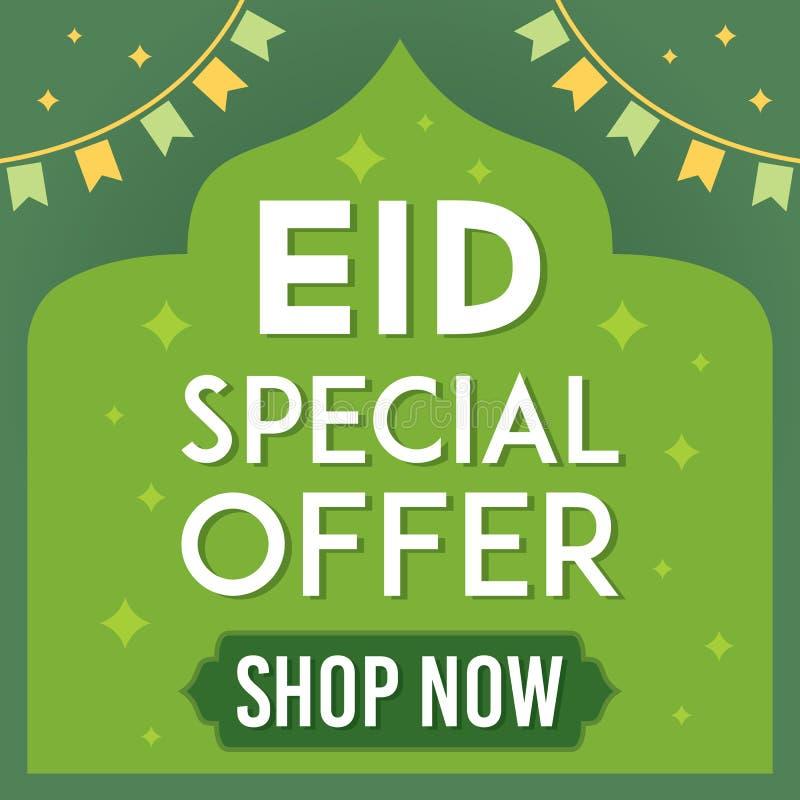 Eid Mosul sprzedaży wektoru ilustracja royalty ilustracja