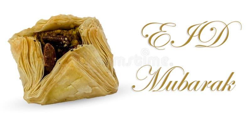 Eid Mubarak imagem de stock royalty free