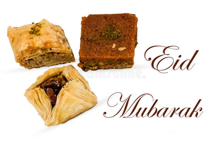 Eid Mubarak fotografia de stock
