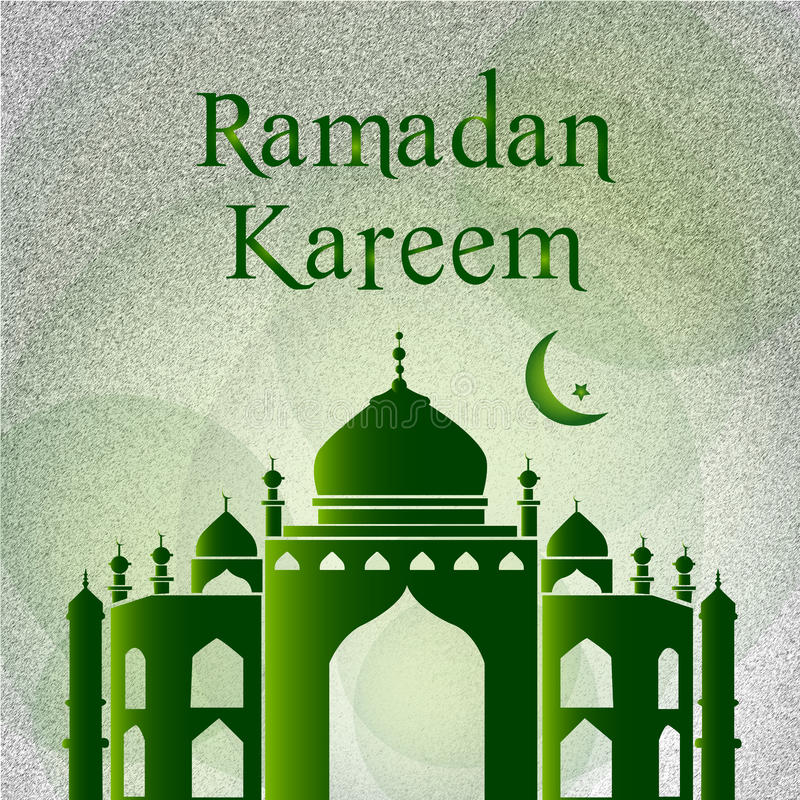eid mubarak card stock illustration illustration of