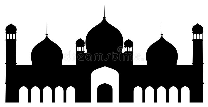 Eid ul Fitr royaltyfri illustrationer