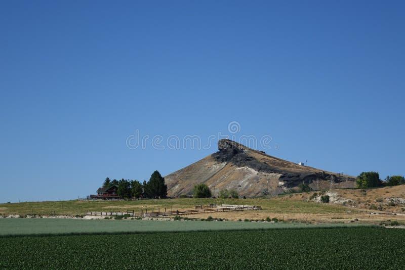 Eidechse Butte - Idaho lizenzfreie stockbilder