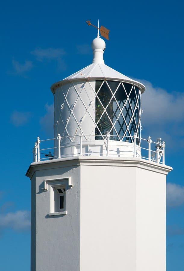 Eidechse-Punkt-Leuchtturm lizenzfreie stockbilder