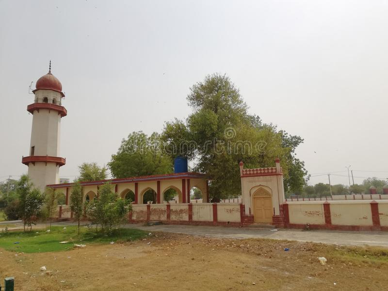 Eidgah, Bahawalpur, Punjab, Pakistan fotografie stock