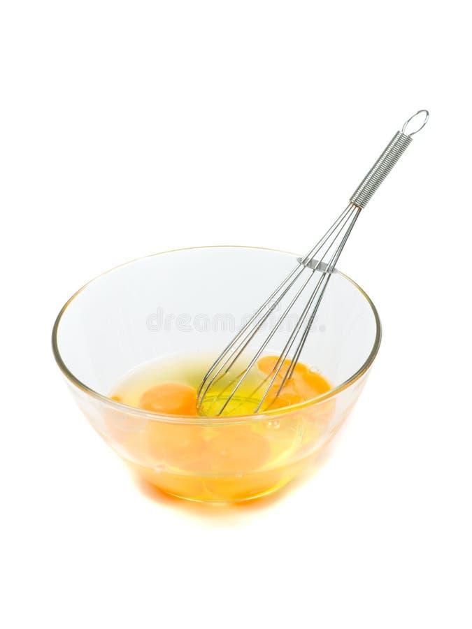 Eier für Omelett stockfotografie