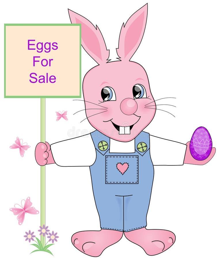 Eier für Verkauf lizenzfreie abbildung
