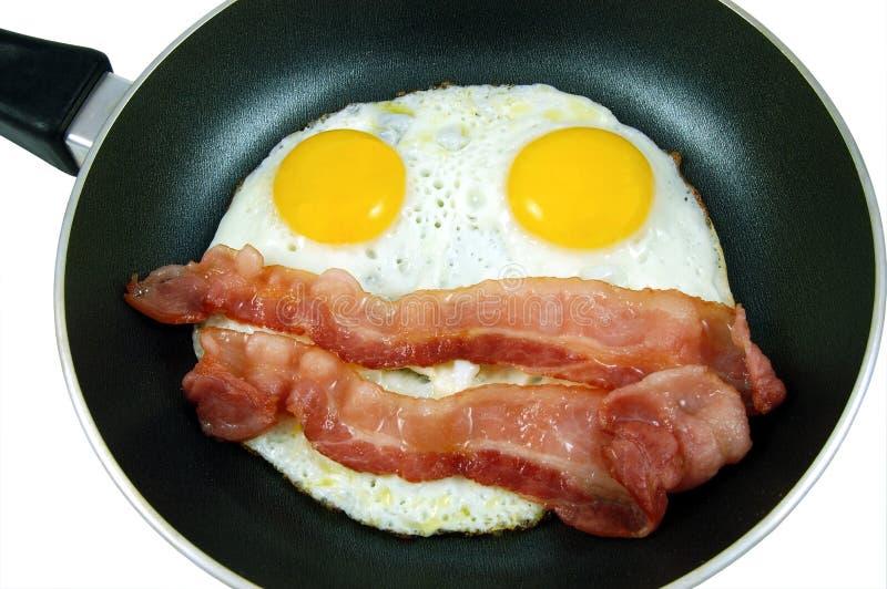 Eier und Speck stockfotos