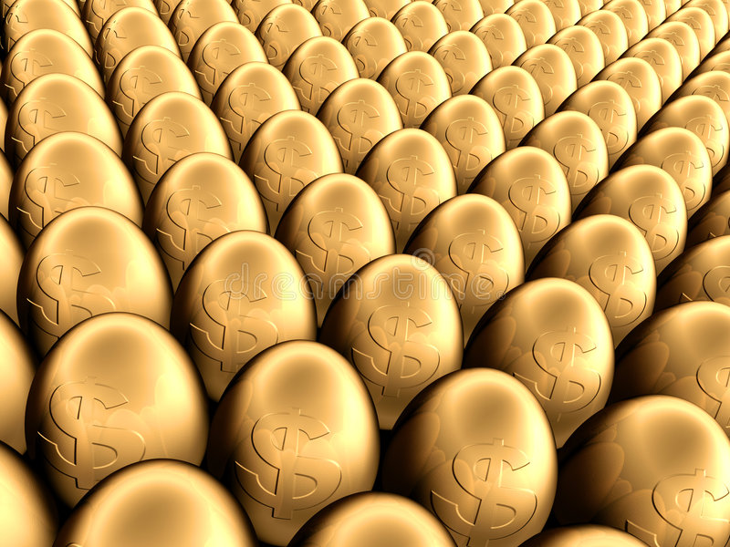 Eieren stock illustratie
