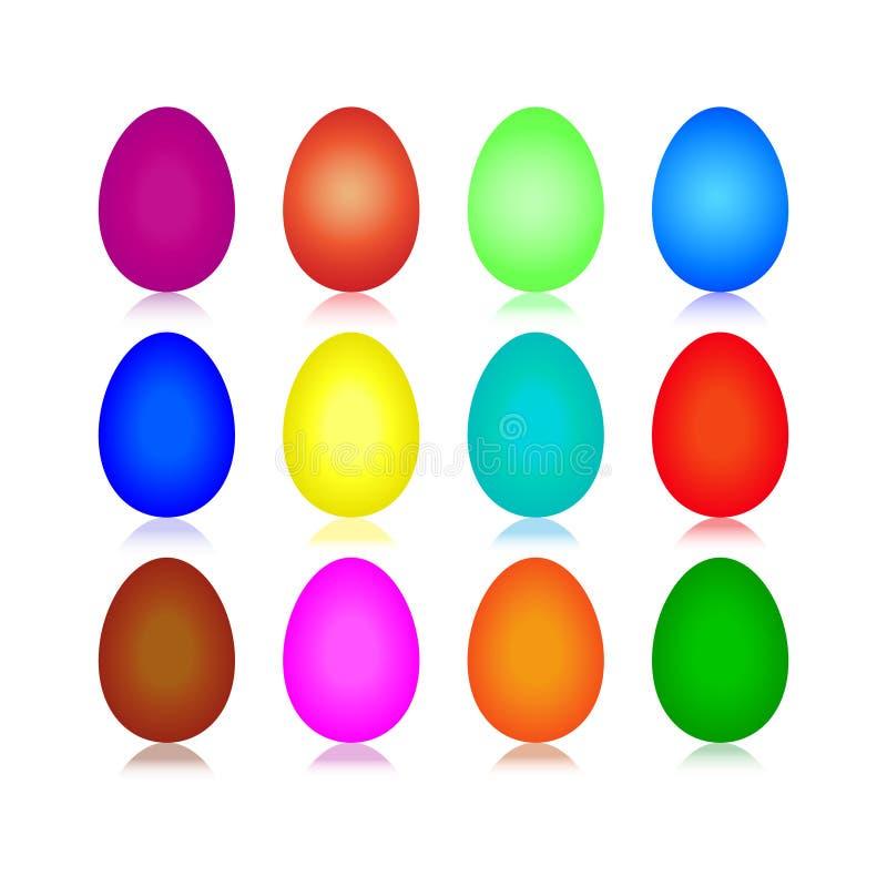 Eieren 12 stock foto's
