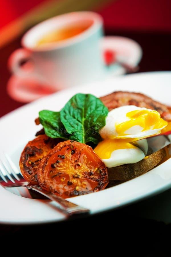Eieren en bacon royalty-vrije stock foto's