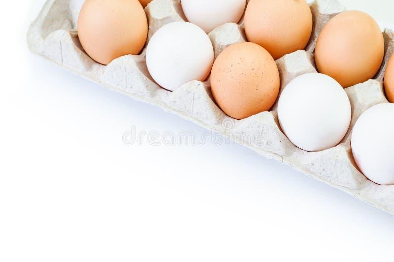 Eieren in het pakket royalty-vrije stock foto