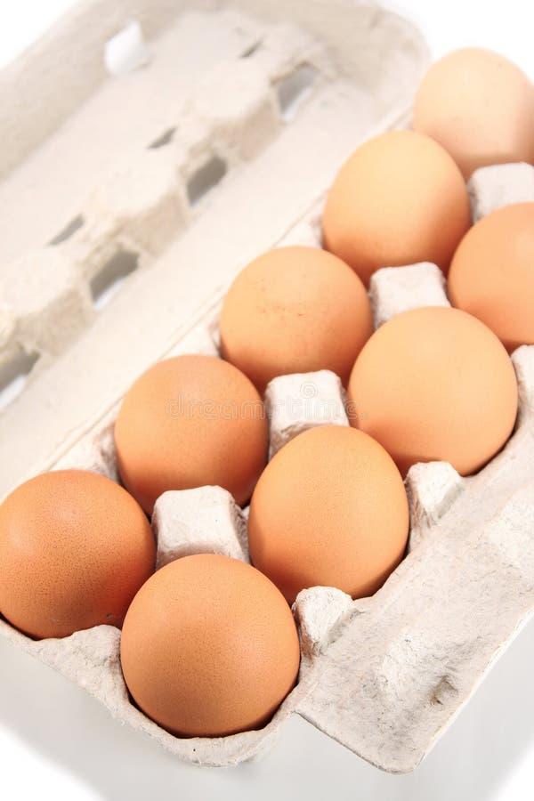 Download Eieren in pak stock afbeelding. Afbeelding bestaande uit huis - 10782477