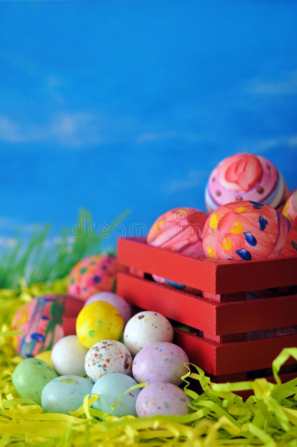 Download Eieren Voor De Dag Van Pasen Stock Afbeelding - Afbeelding bestaande uit pasen, vakantie: 29511373