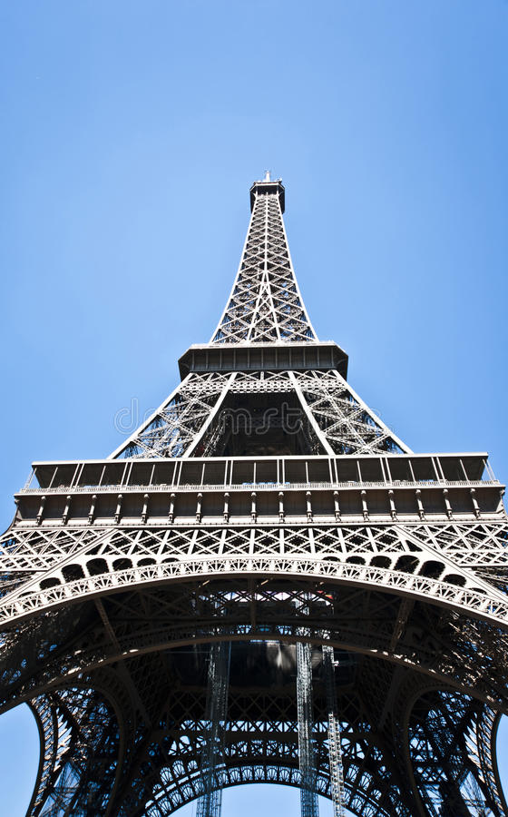Eifel塔在巴黎。 法国。 库存照片