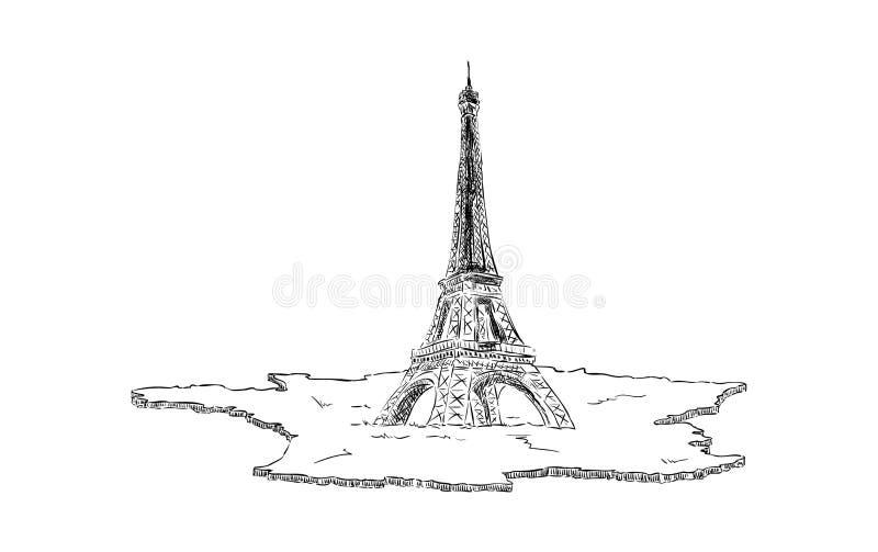 Eifel ilustración del vector