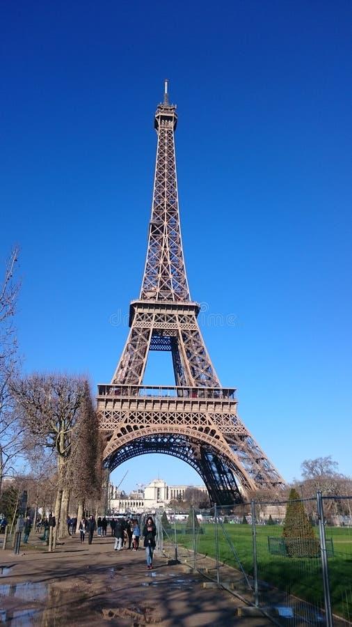 Eifel da excursão fotografia de stock royalty free
