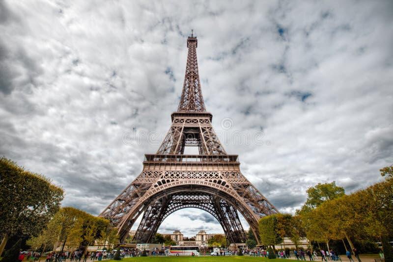 eifel hdr πύργος φωτογραφιών στοκ εικόνες