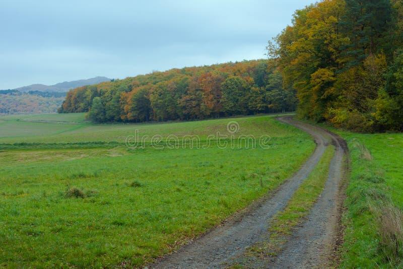 Eifel Landscape, Germany royalty free stock image