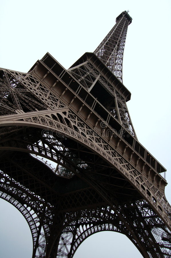 Download Eifel Tower stock photo. Image of golden, cold, black - 3251168