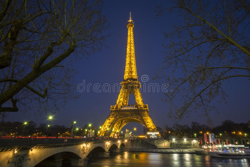 Eifel Tower stock photo
