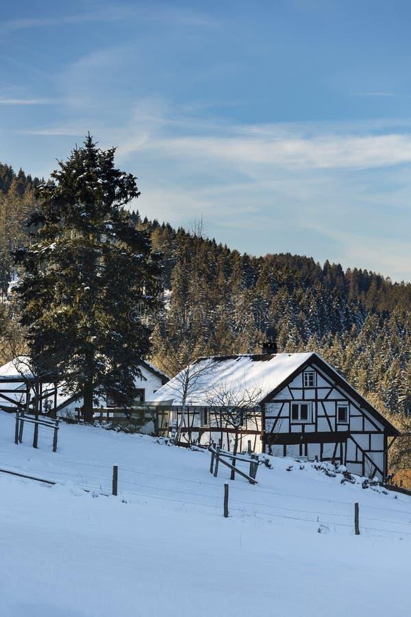 Download Eifel Zimy Krajobraz, Niemcy Zdjęcie Stock - Obraz złożonej z krajobraz, niemcy: 106909820