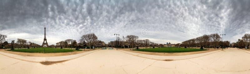 360 Eiffel royalty-vrije stock afbeeldingen