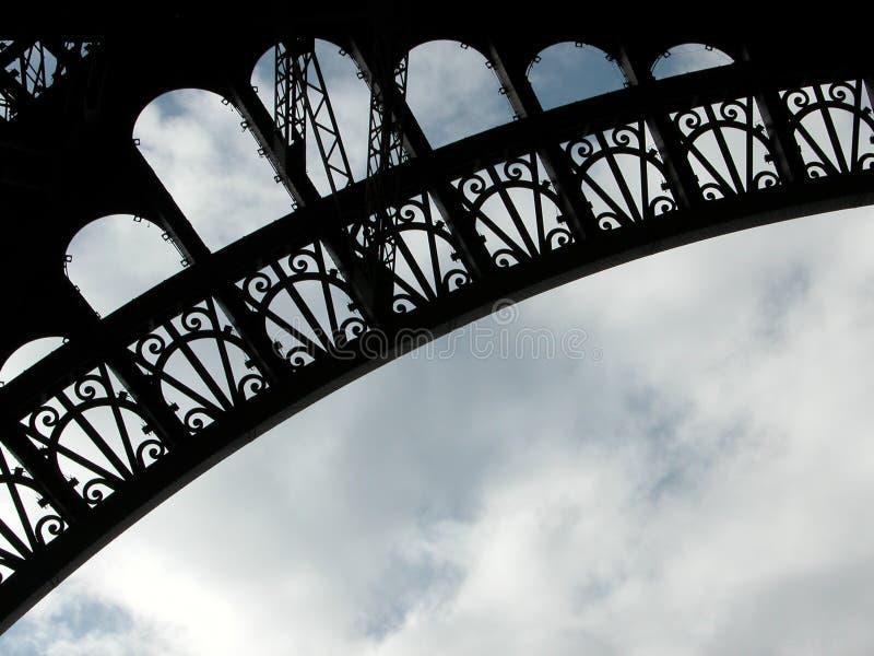 Eiffel-Beschaffenheit 2 stockfotografie