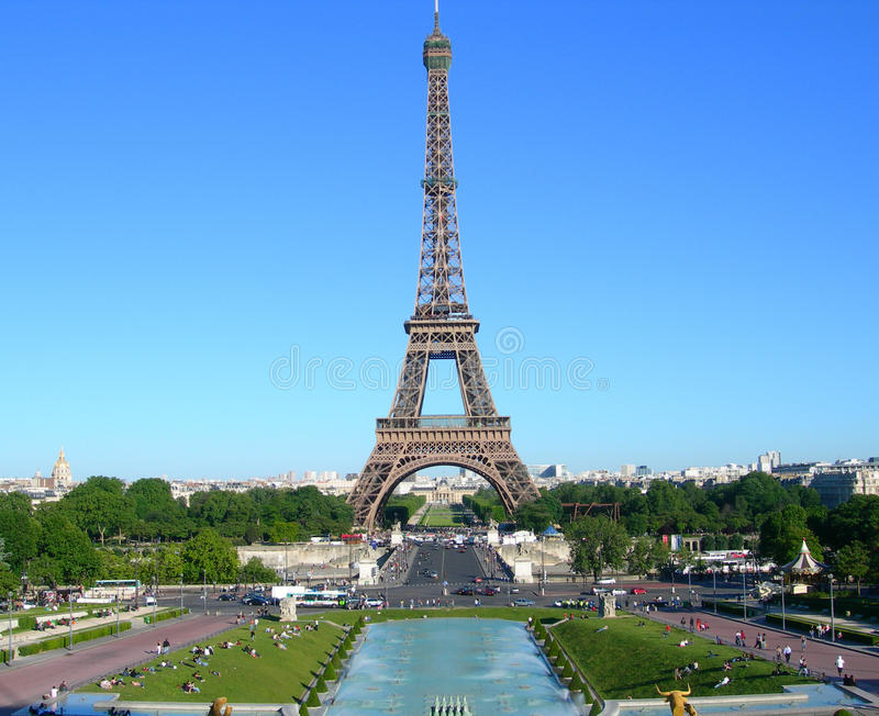 eiffel france paris torn royaltyfri bild