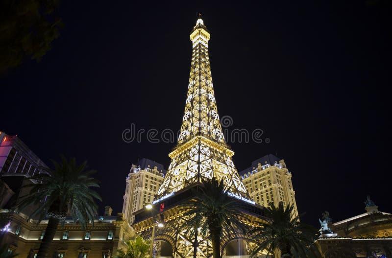 Eiffel Las Vegas fotos de archivo
