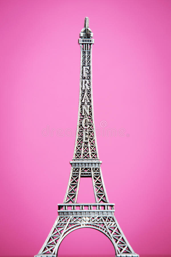 Download Eiffel model stock image. Image of famous, copy, construction - 26736087