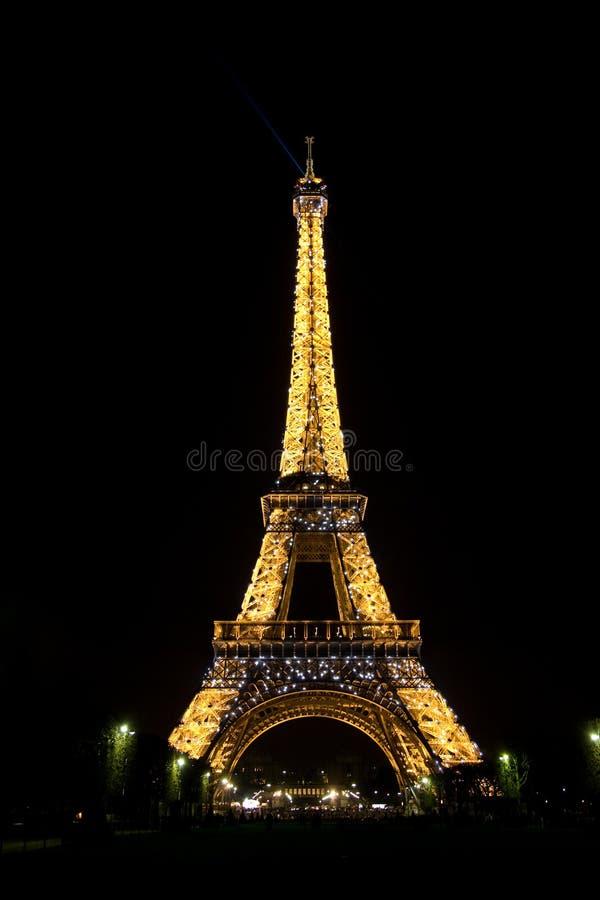 eiffel night tower στοκ εικόνες
