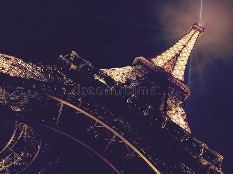 eiffel night tower