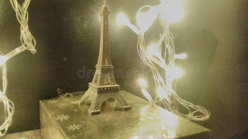 Eiffel romantico fotografia stock