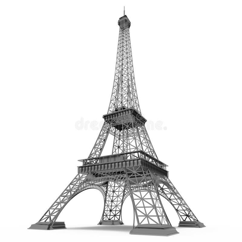 Eiffel torn i Paris vektor illustrationer
