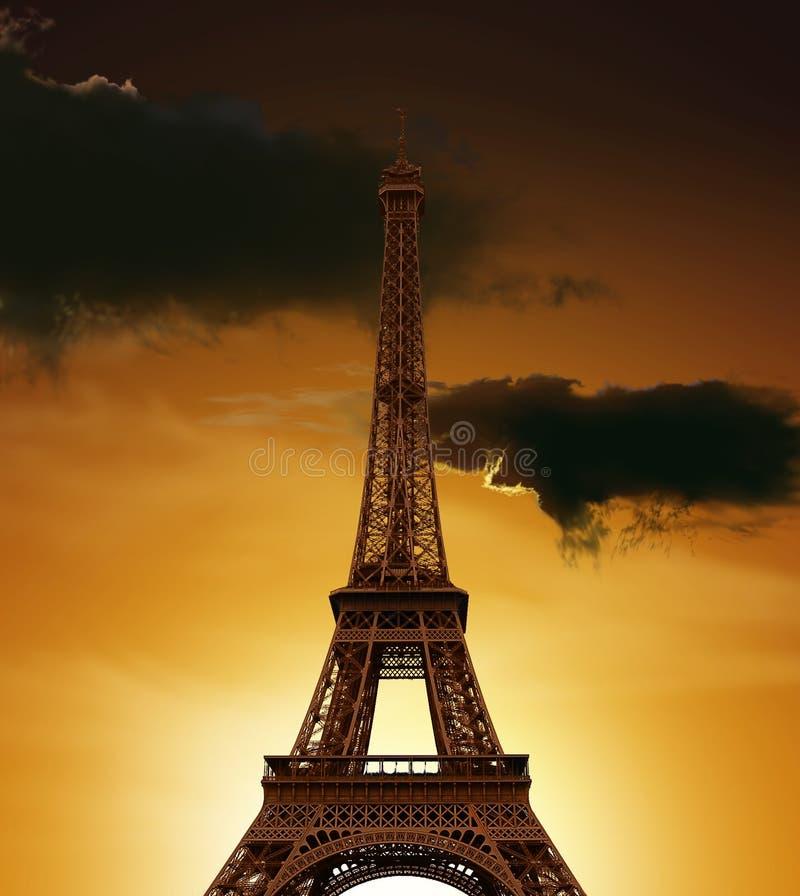 Eiffel-torre imágenes de archivo libres de regalías