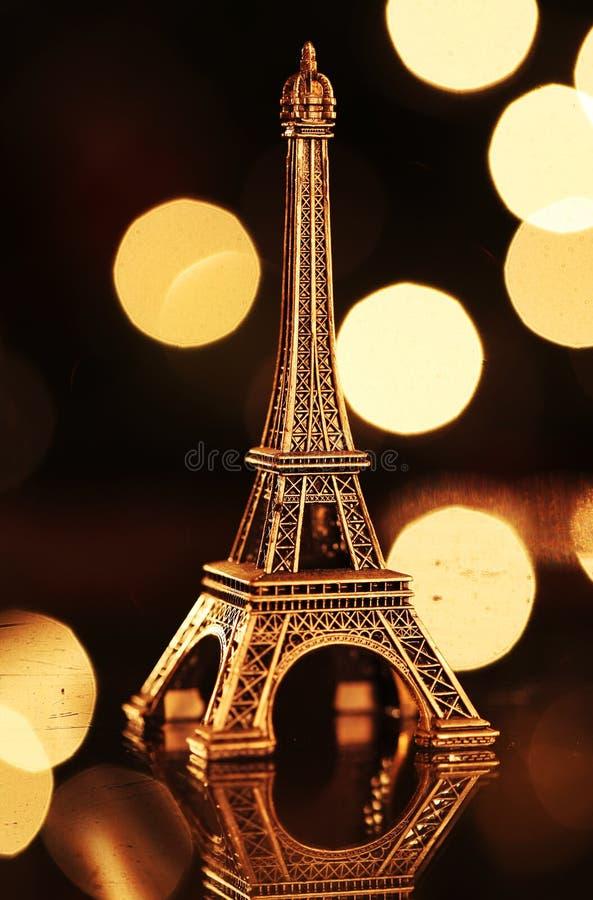 Eiffel-tour miniature image stock