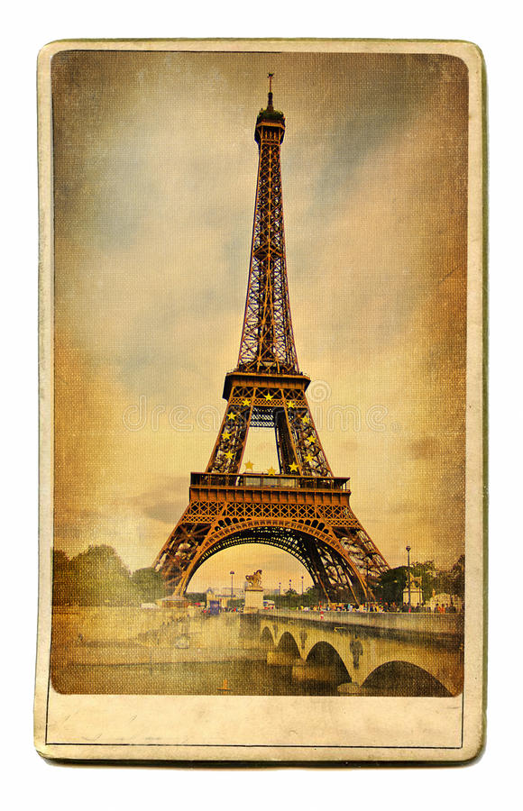 Download Eiffel tower stock image. Image of famous, landmark, artistic - 10936591