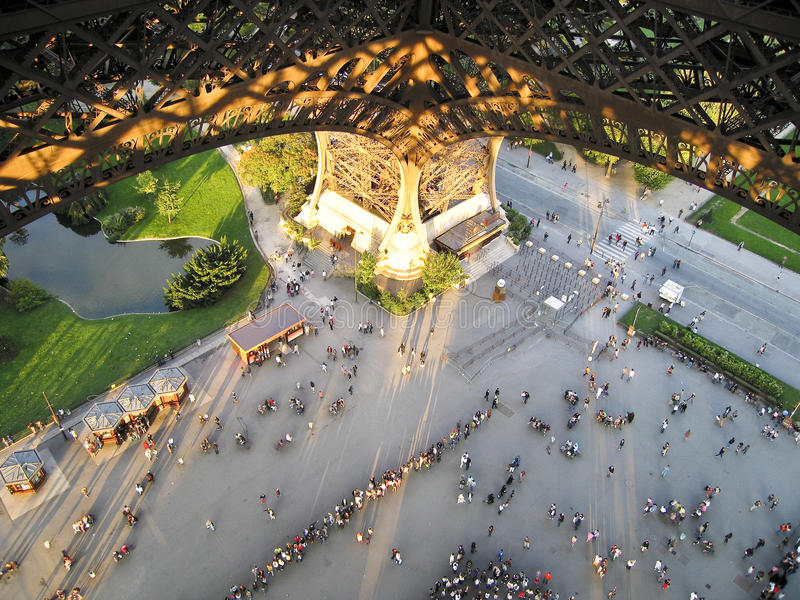 Download EIFFEL TOWER stock image. Image of water, 1889, tree - 12221823