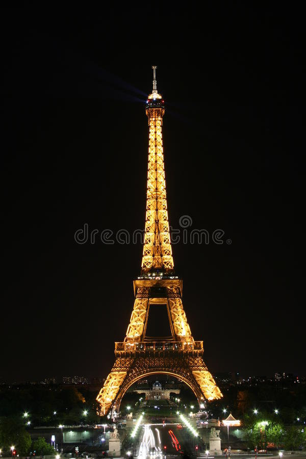 Eiffel tower stock photos