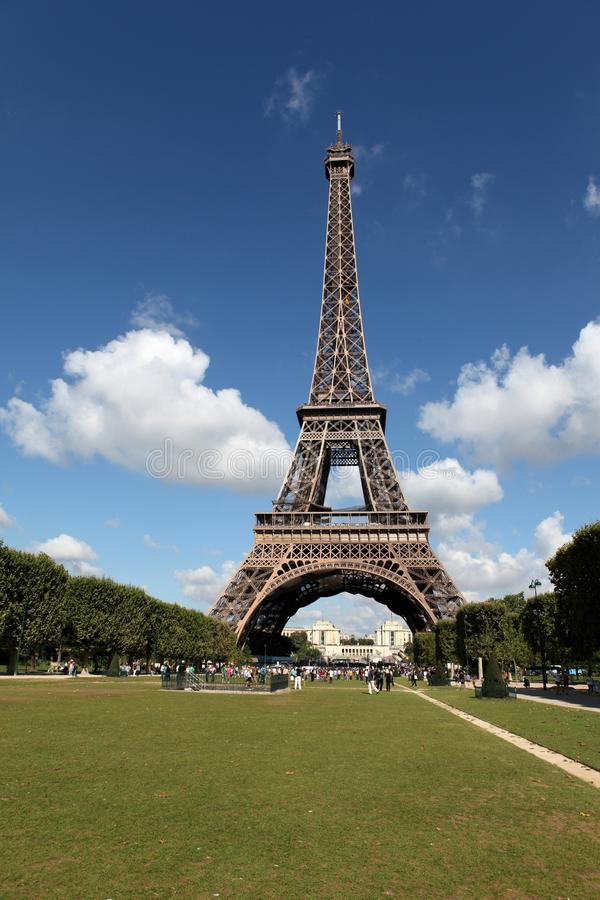 Download The Eiffel Tower stock photo. Image of spring, monument - 15921548