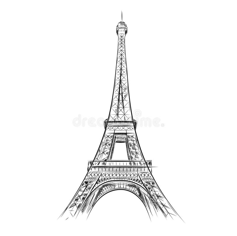 eiffel tower stock vector illustration of object metal 21350184. Black Bedroom Furniture Sets. Home Design Ideas