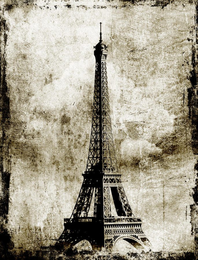 Download Eiffel Tower stock image. Image of iron, mars, attraction - 21819285