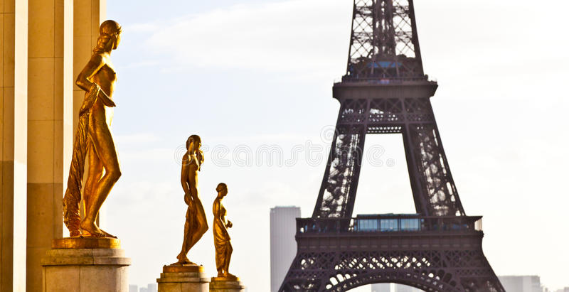 Download Eiffel tower stock image. Image of architecture, glowing - 23430651