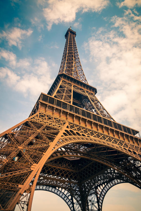 Download Eiffel Tower stock image. Image of tourist, city, close - 27032223