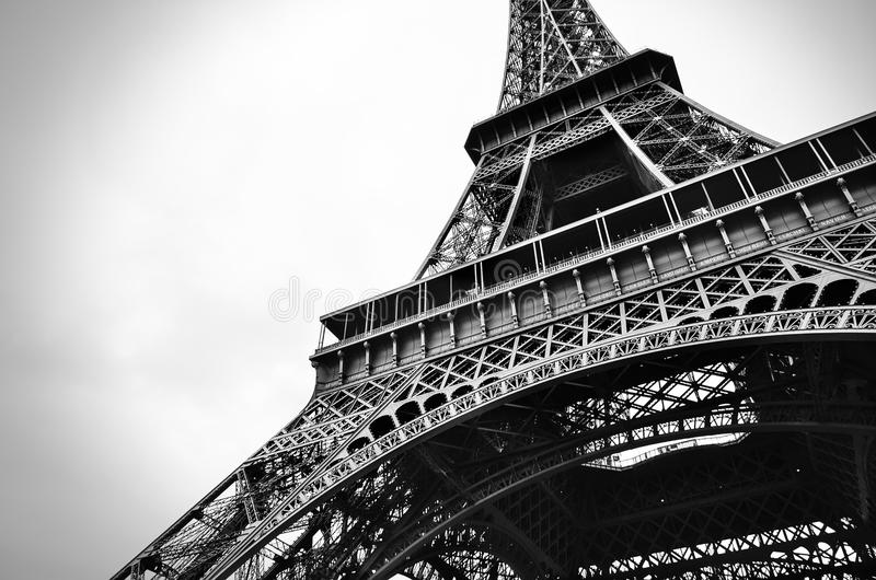 Download Eiffel Tower Black And White Beauty Stock Photo - Image of city, outdoors: 26922564